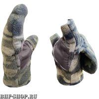 Перчатки-Варежки Бабек Индиго