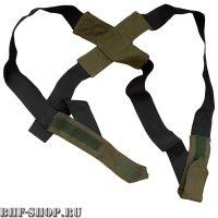 Подтяжки для костюма Горка на липучках Палатка Хаки