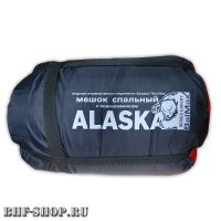 Спальный мешок BalMax ALASKA с подголовником -15°синий