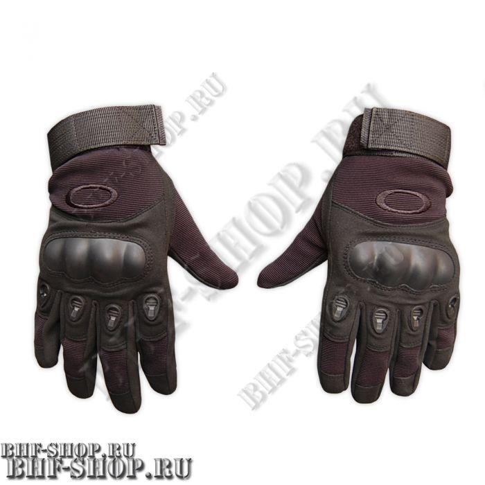 Перчатки тактические OK с закрытыми пальцами черный