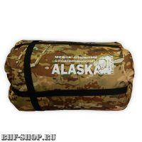 Спальный мешок BalMax ALASKA с подголовником -20° мультикам