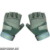 Перчатки тактические BLACKHAWK с открытыми пальцами хаки