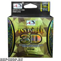 Леска INVISIBLE 3D 0.25 мм. 100 м.