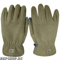 Перчатки флисовые Gongtex 3M Thinsulate Tactical Gloves, Хаки