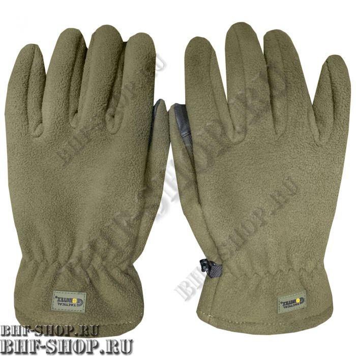 Перчатки флисовые Gongtex 3M Thinsulate Tactical Gloves, Хаки