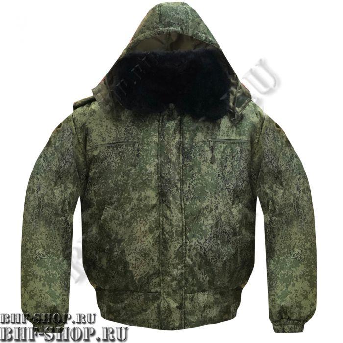 Куртка зимняя для ОХРАНЫ Великан Пиксель БШФ+ - 1серия