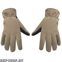 Перчатки флисовые Gongtex 3M Thinsulate Tactical Gloves, Койот
