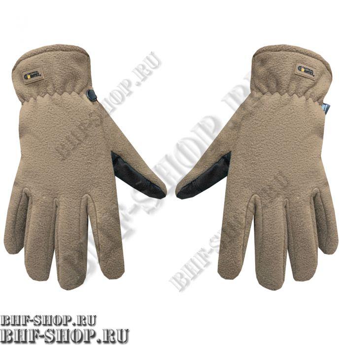 Перчатки флисовые Gongtex 3M Thinsulate Tactical Gloves, Койот