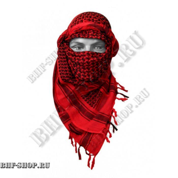 Арафатка (Шемаг) красно-черная