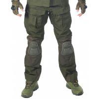 Брюки GONGTEX Alpha Tactical Pants олива с наколенниками
