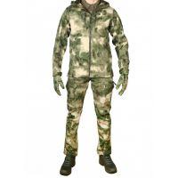 Костюм тактический мужской софтшелл GONGTEX SMARTFOX, Зеленый мох