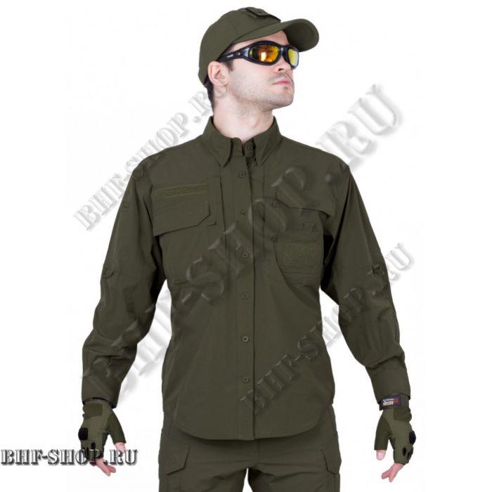 Рубашка мужская GONGTEX Traveller Shirt Олива