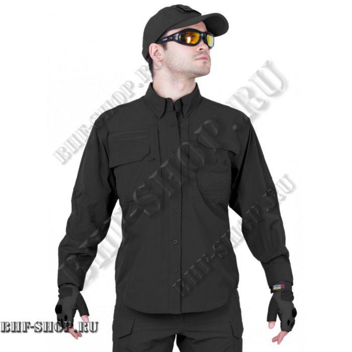 Рубашка мужская GONGTEX Traveller Shirt Черная