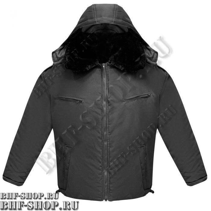 Куртка ПИЛОТ зимняя Черный
