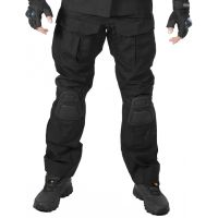 Брюки GONGTEX Alpha Tactical Pants черные с наколенниками