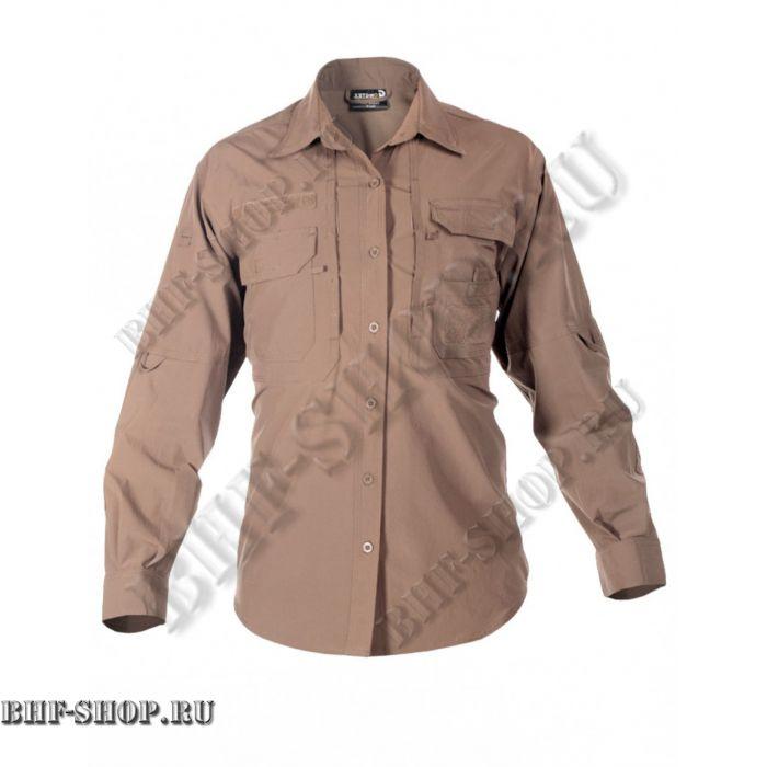Рубашка мужская GONGTEX Traveller Shirt Койот