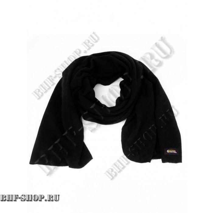 Шарф флисовый GONGTEX Field Scarf, с сумкой-чехлом, черный
