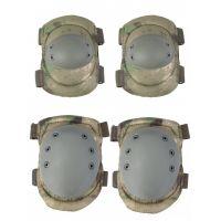 Наколенники и налокотники Gongtex Tactical Protection GK04K, Зеленый мох