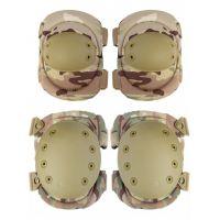 Наколенники и налокотники Gongtex Tactical Protection GK04K, Мультикам