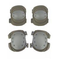 Наколенники и налокотники Gongtex Tactical Protection GK04K, Олива