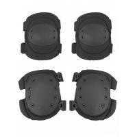 Наколенники и налокотники Gongtex Tactical Protection GK04K, Черный