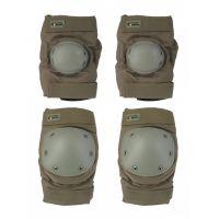 Наколенники и налокотники Gongtex Tactical Protection GK07K, Олива
