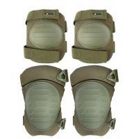 Наколенники и налокотники Gongtex Tactical Protection GK08K, Олива