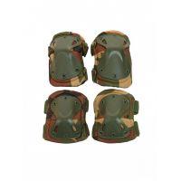 Наколенники и налокотники Tactica 7.62  X-Form Вудланд