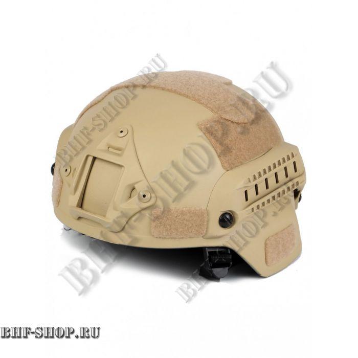 Шлем для страйкбола Ops Core FAST Tactical Helmet Песок