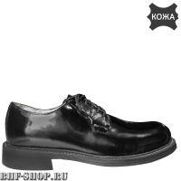 Туфли (полуботинки) военные лакированные, старый образец