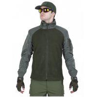 Куртка мужская флисовая GONGTEX Russian Flight Jacket Олива