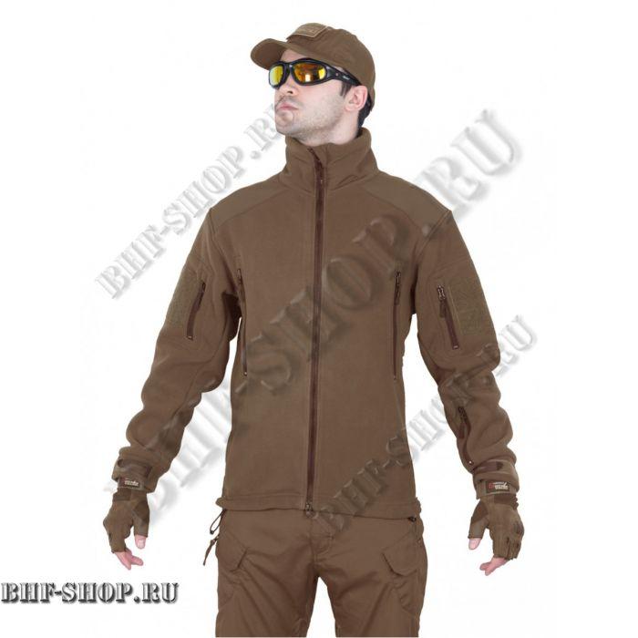 Флисовая куртка Fleece Jacket, Tactica 7.62 Койот