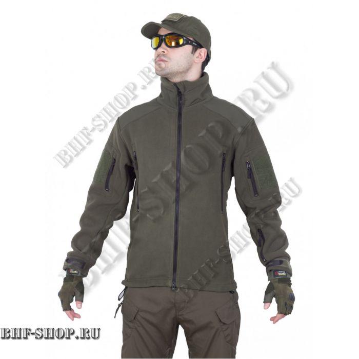 Флисовая куртка Fleece Jacket, Tactica 7.62 Олива