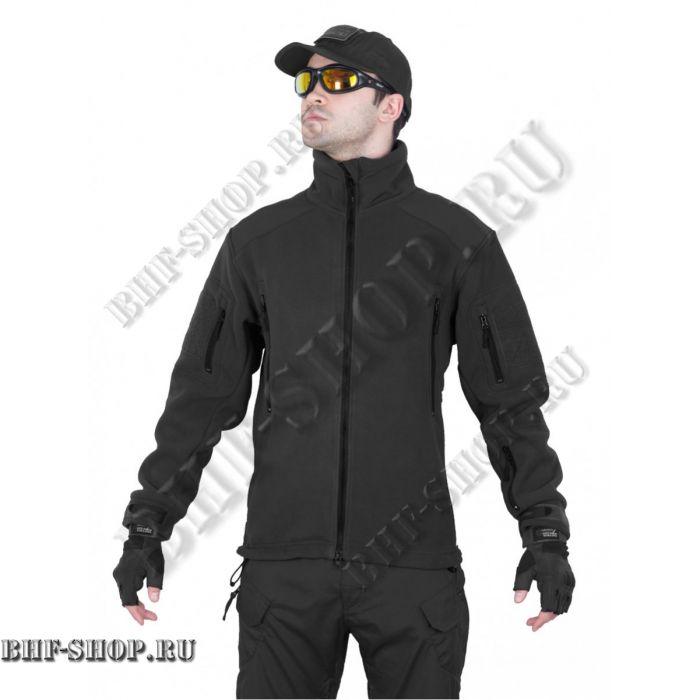 Флисовая куртка Fleece Jacket, Tactica 7.62 Черный