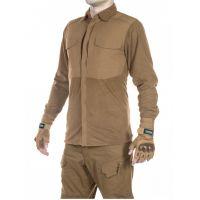 Рубашка флисовая мужская утепленная GONGTEX Superfine Fleece Shirt Койот