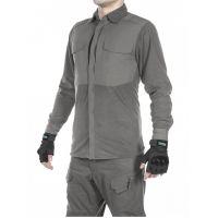 Рубашка флисовая мужская утепленная GONGTEX Superfine Fleece Shirt Серый