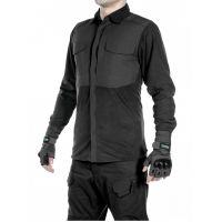 Рубашка флисовая мужская утепленная GONGTEX Superfine Fleece Shirt Черный