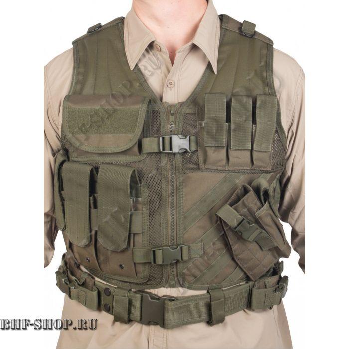 Жилет разгрузочный Gongtex Guardian AK-47 Modular Vest T-045 Олива