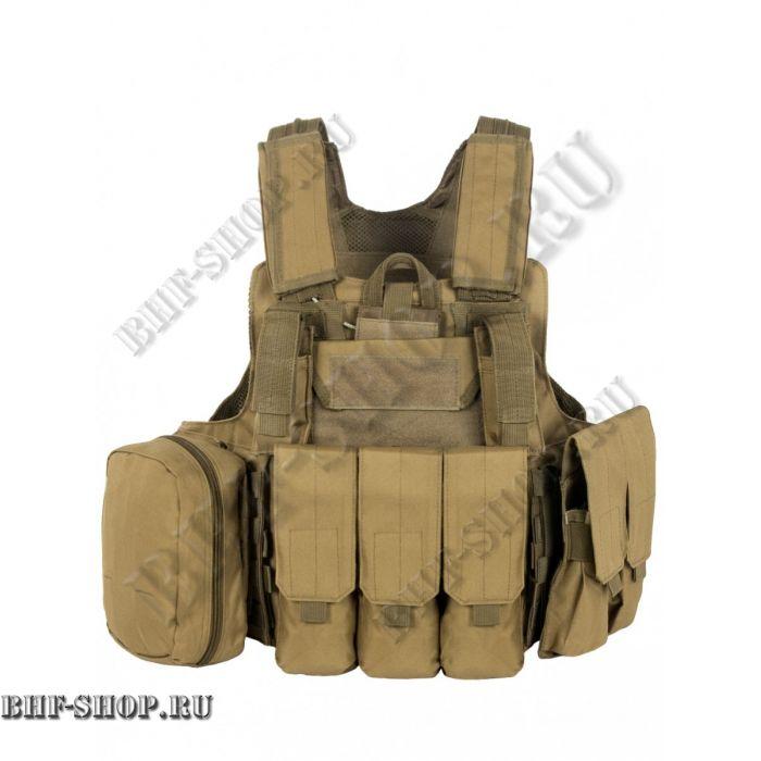 Бронежилет разгрузочный Tactical 047 Койот