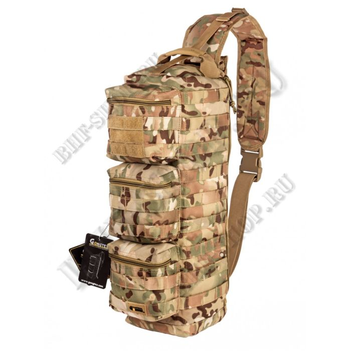Тактический Рюкзак Gongtex Single Pack Мультикам