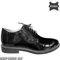 Туфли (полуботинки) военные лакированные, новый образец