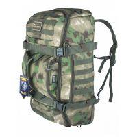 Тактический рюкзак сумка (баул) Gongtex Traveller Duffle Backpack Зеленый мох