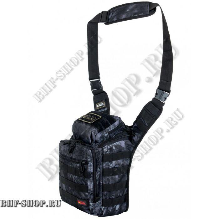 Сумка тактическая GONGTEX Rover Sling Bag Питон черный 8,6л