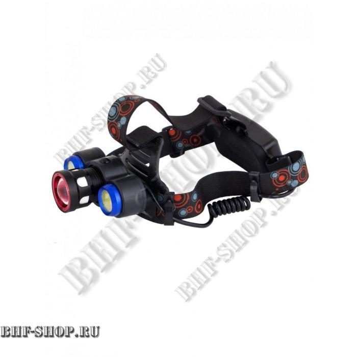 Мощный налобный светодиодный аккумуляторный фонарь HL-861