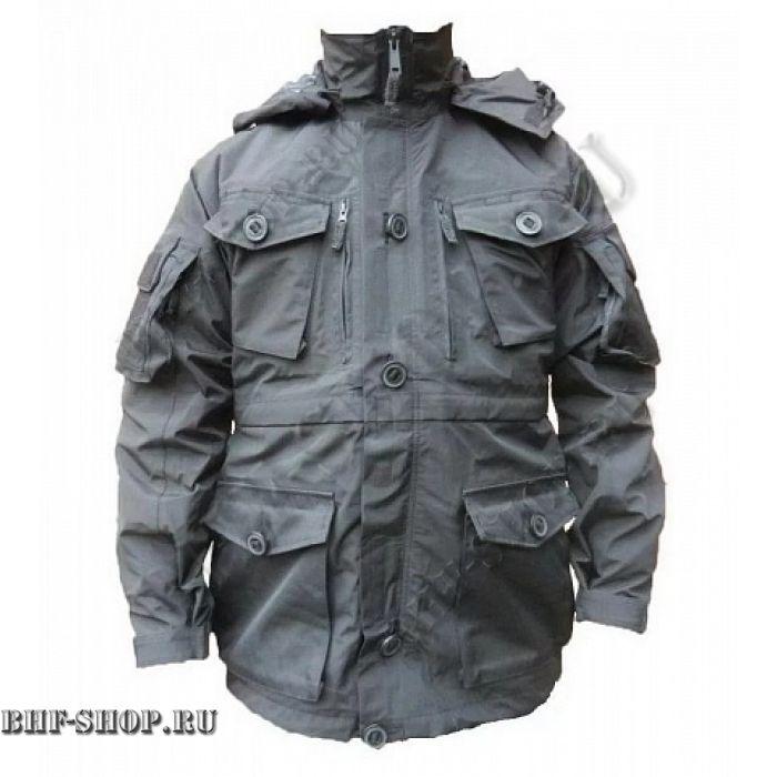 Куртка Гарсинг ПАНЦИРЬ (с флисом) Черная, GSG-14
