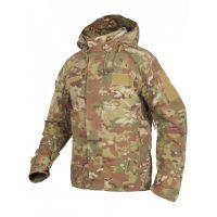 Куртка мужская тактическая 2в1, GONGTEX Alpha Hardshell Jacket Мультикам