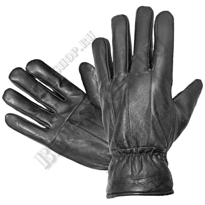 Перчатки кожаные черные Гарсинг