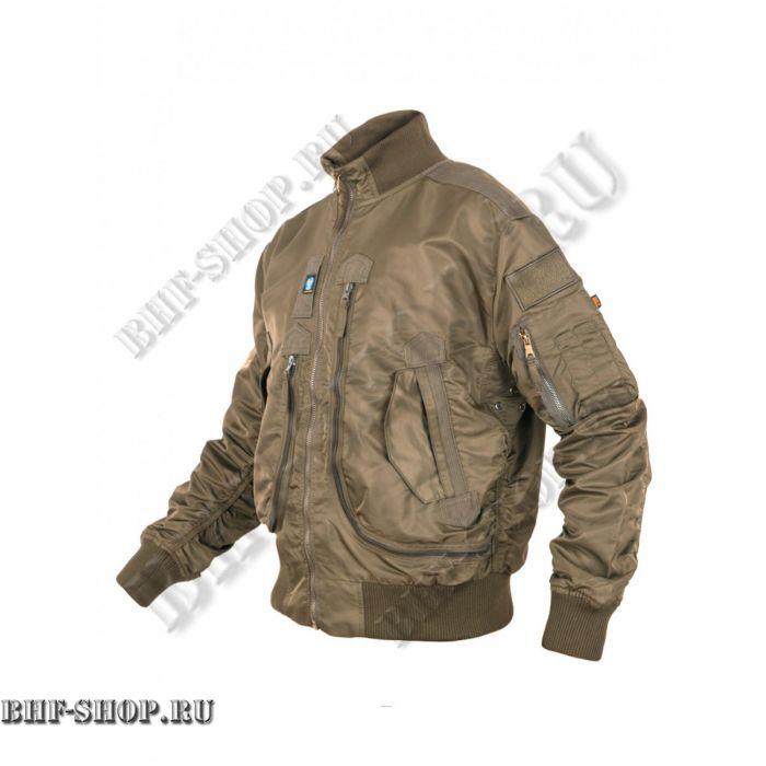 Куртка Пилот (бомбер) демисезонная 7,26 Armyfans G056A Хаки