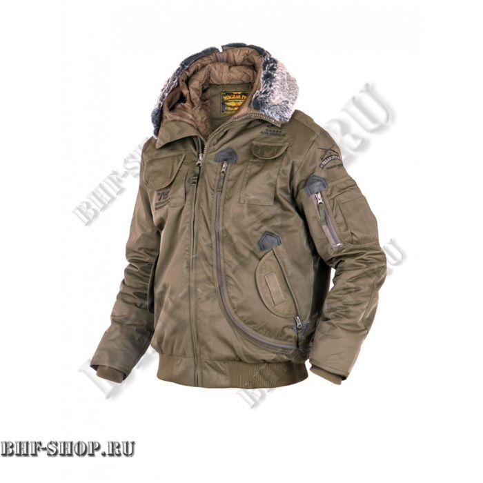 Куртка Пилот (бомбер) 7,26 Armyfans G037A Хаки
