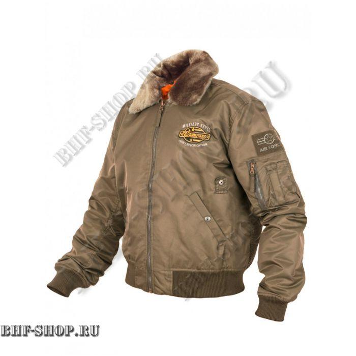 Куртка Пилот (бомбер) 7,26 Armyfans G060A Хаки